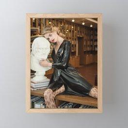 The Thinker Framed Mini Art Print