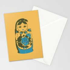 matryoshka dolls Stationery Cards