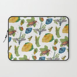 Watercolour bugs Laptop Sleeve