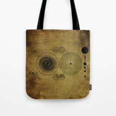 Ancient Spacemap Tote Bag