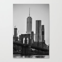 Brooklyn Bridge 4 Canvas Print