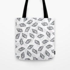 leaf floral pattern Tote Bag