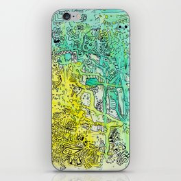 Water color 1 iPhone Skin