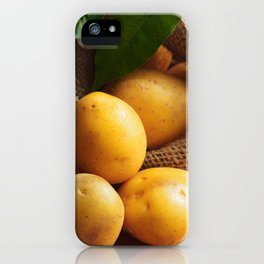 Farmer potato for your Design in the kitchen iPhone Case
