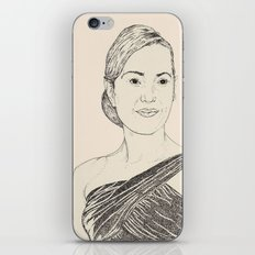 Kate Winslet Portrait iPhone & iPod Skin