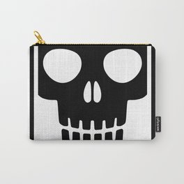 Ded skull poster Carry-All Pouch