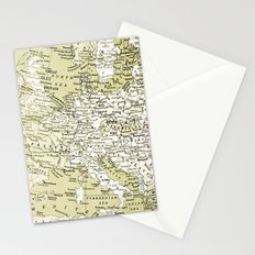 1938 Europe Stationery Cards