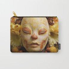 Golden Harvest Muertita Detail Carry-All Pouch