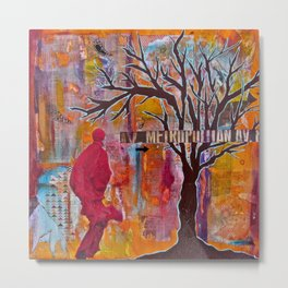 Finding My Way (The Path to Self Discovery/Actualization) Metal Print