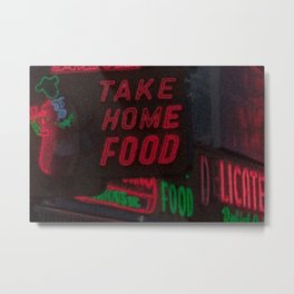 Take Home Food Metal Print