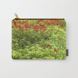 Poppyflower V Carry-All Pouch