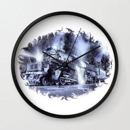 Ghost Train. © J&S Montague. Wall Clock