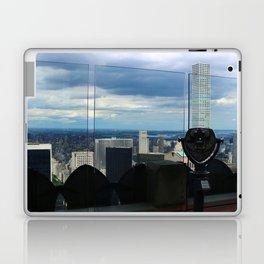 Top of the Rock View over Manhattan Laptop & iPad Skin