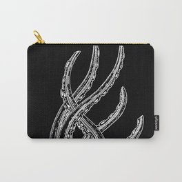 Woodcut Style Cthulhu Octopus Tentacles Carry-All Pouch