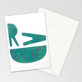 Rad - Green Stationery Cards