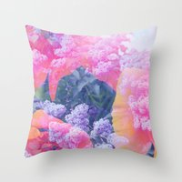 aloha Throw Pillows featuring Aloha by Tyler Spangler