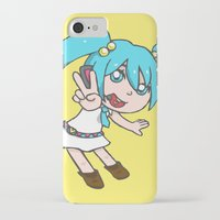 vocaloid iPhone & iPod Cases featuring Miku Miku by tees4weebs