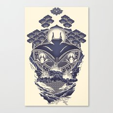 Mantra Ray Canvas Print