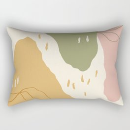 Mountain Valleys Rectangular Pillow