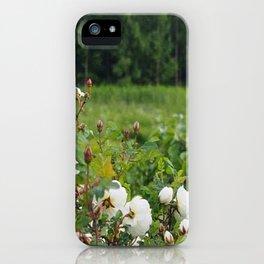 White wild roses iPhone Case
