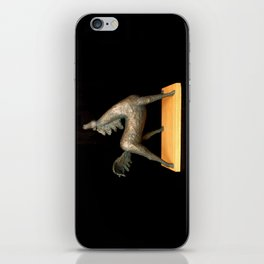 Exuberant Colt (Sculpture by Eva Hoedeman) iPhone Skin
