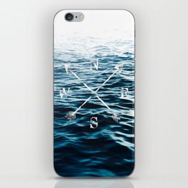 Winds of the Sea iPhone Skin