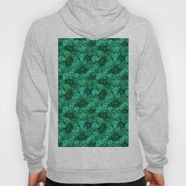 Malachite Swirls in Emerald Garden Hoody
