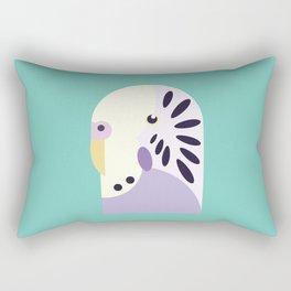 Budgerigar 3 Rectangular Pillow