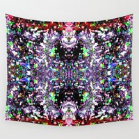 spiritual Wall Tapestries featuring Spiritual Travel by Phinilez