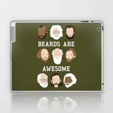 Beards Are Awesome Laptop & iPad Skin