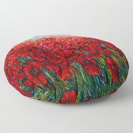 Field Of Happiness   Floor Pillow