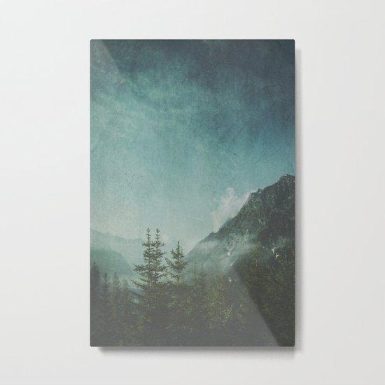 Misty Wilderness - Italian Alps Metal Print