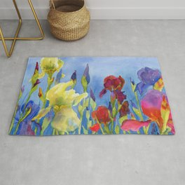 Blue Skies and Happiness Rug