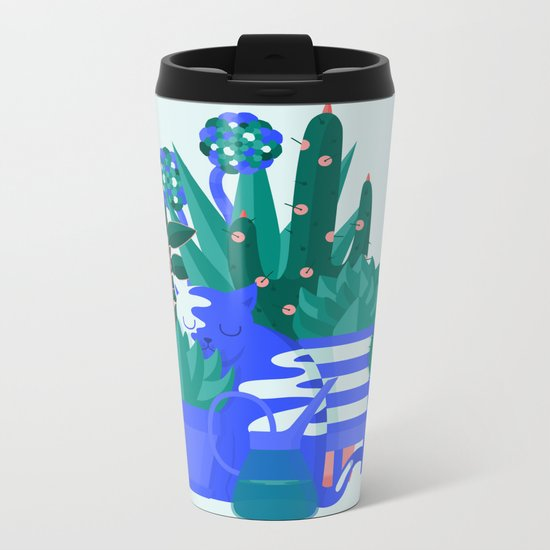 Comfort Zone Metal Travel Mug
