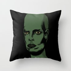 L'extraterrestre Throw Pillow
