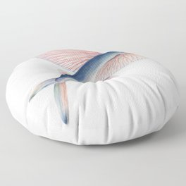 Flying Fish Floor Pillow
