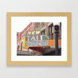 New Tait Hotel Framed Art Print