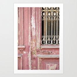 Weathered Door Detail, Sintra Art Print