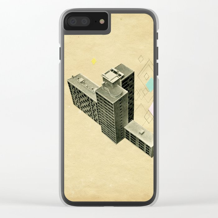 The Modern World Clear iPhone Case