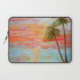 California Coast Sunset Laptop Sleeve