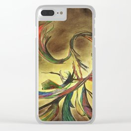Splendid Vine Clear iPhone Case