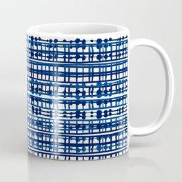 Abstract Net - Aegean Coffee Mug