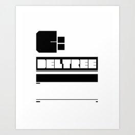 deltree c: Art Print