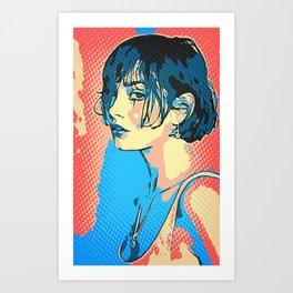 french  Art Print