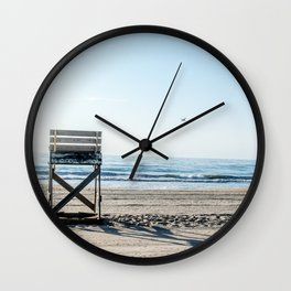 While the Lifeguards Away Wall Clock