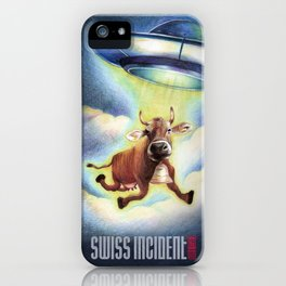 World Issues-Swiss Incident iPhone Case