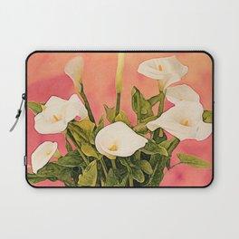 Monterey Calla Lilies Laptop Sleeve