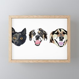 Pet Paper Framed Mini Art Print