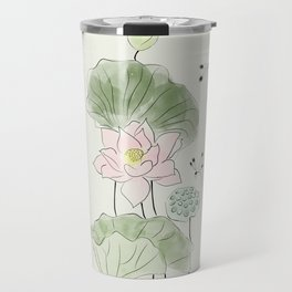 Pond of tranquility Travel Mug