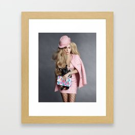 Ga Ga Gone Art Framed Art Print